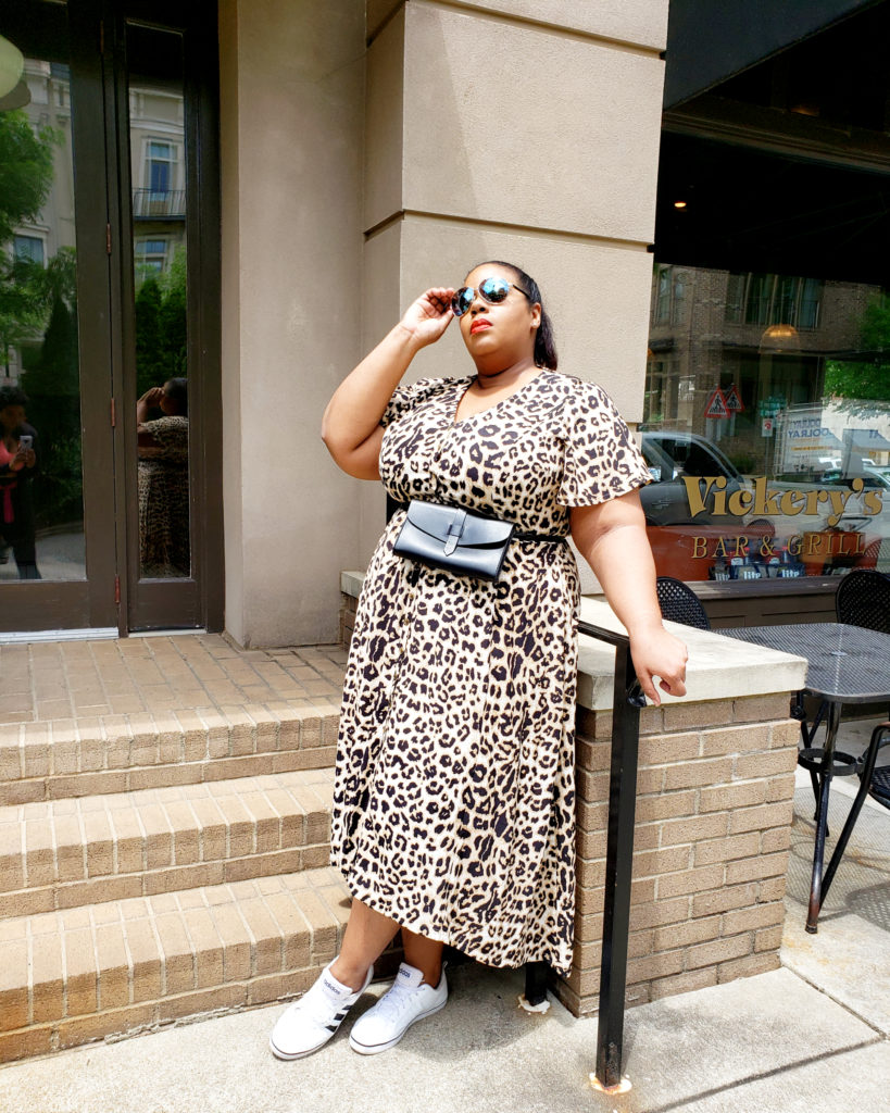 lane bryant Beauticurve Leopard dress